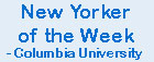 "Dr Thomas Bolte interviewed for ""New Yorker of the Week"" segment on Columbia University CTV."